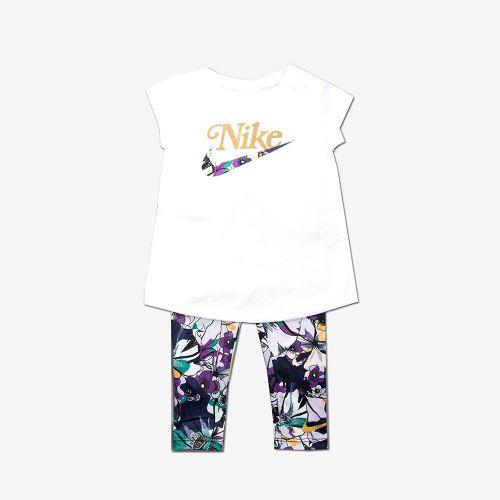 Nike Studio 50 Floral Tunic And Legging Set