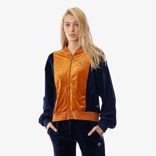 Russell Athletics Ellie Zip Velour Jacket