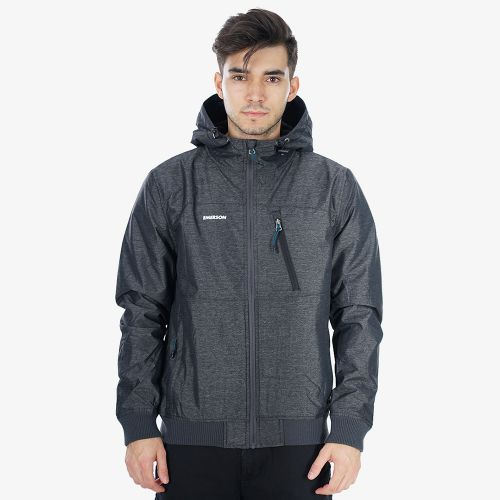 Emerson Ribbed Hooded Jacket