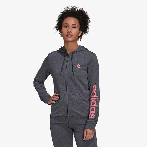 Adidas Essentials Logo Full-Zip Hoodie