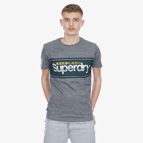 Superdry Logo Stripe Tee